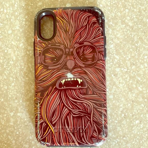 huge discount 32907 2305d Chewbacca iPhone X case